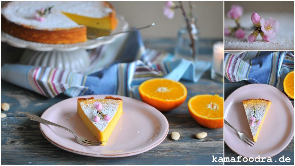 Supersaftiger Und Einfacher Orangen Mandelkuchen Mit Mandelblute