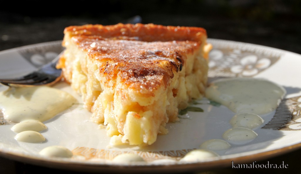 Leckerer apfelkuchen ohne butter